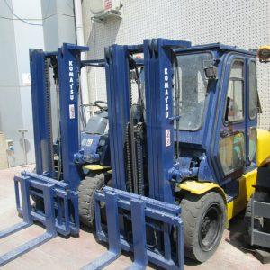 İkinci El Komatsu Dizel Forkliftler