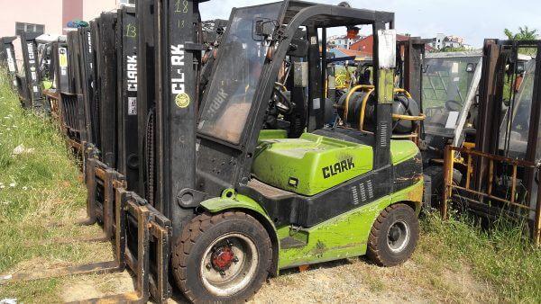 Satılık İkinci El Clark Forklift